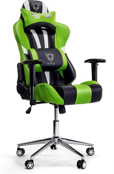 Silla Gamer Carrefour reclinable